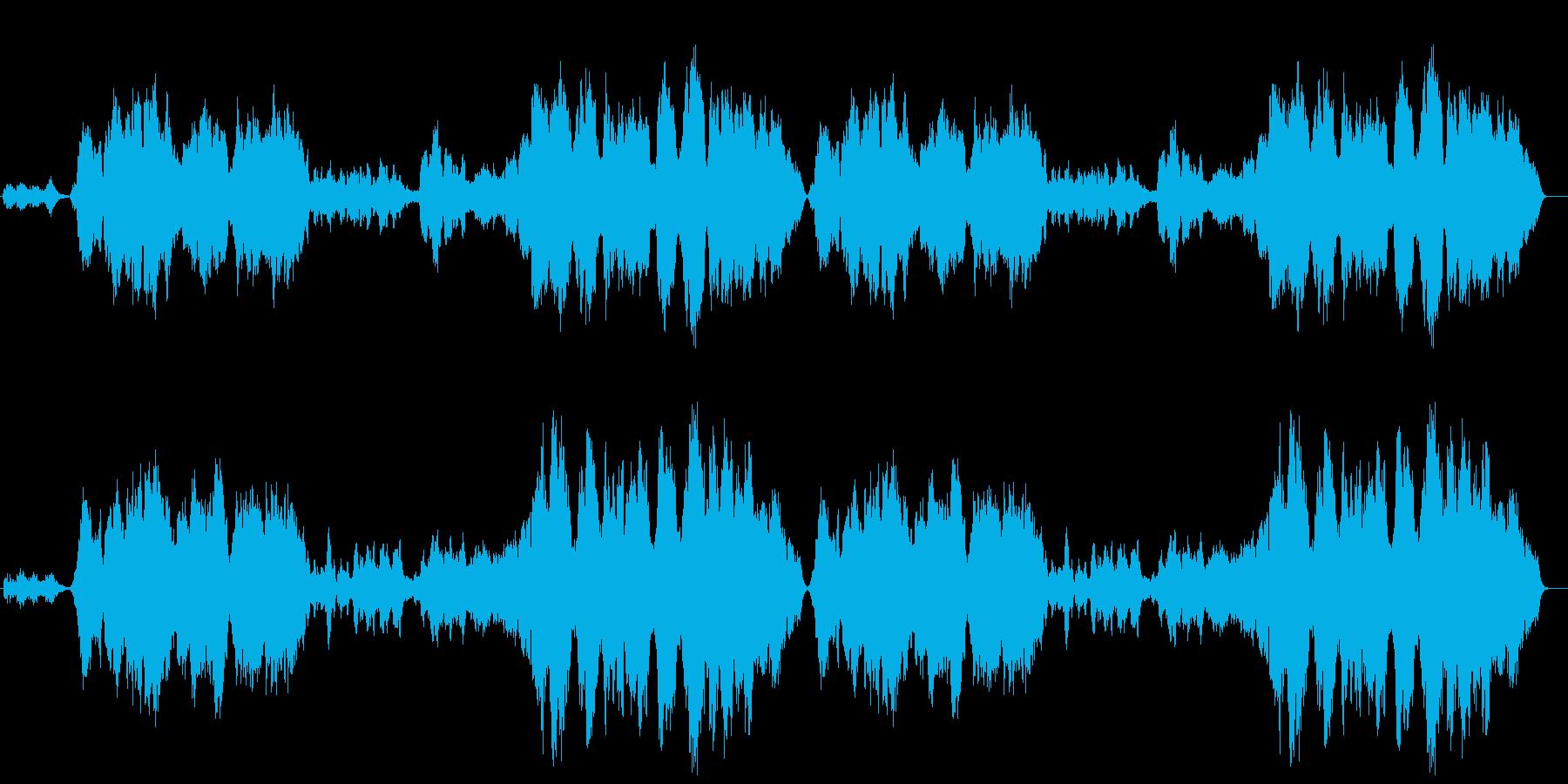 ロマンチックシネマ風女性声楽曲 の再生済みの波形
