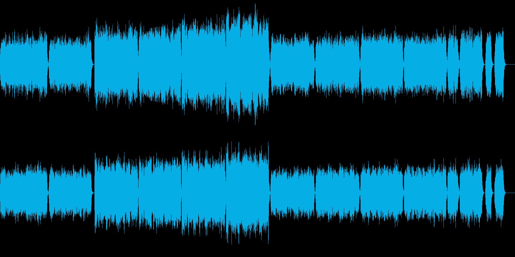 『ペール・ギュント』第1組曲より第二曲の再生済みの波形