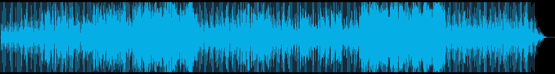 ブルーハワイの再生済みの波形