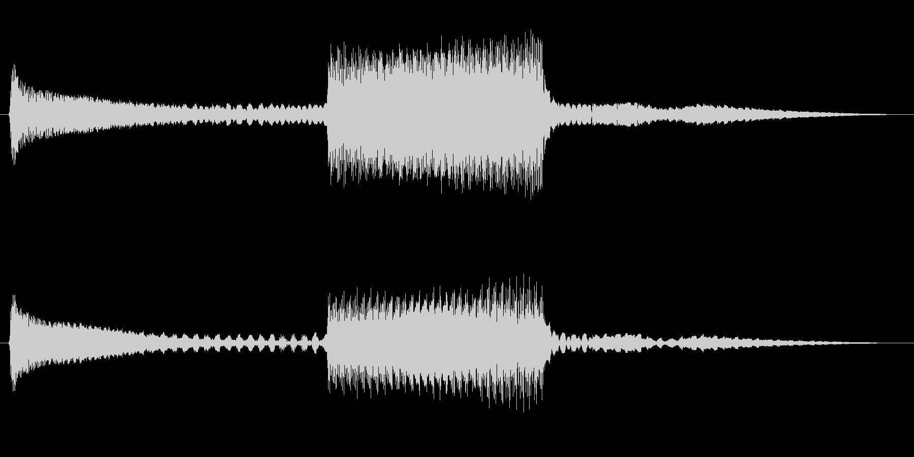 FI デバイス ライズフォール03の未再生の波形
