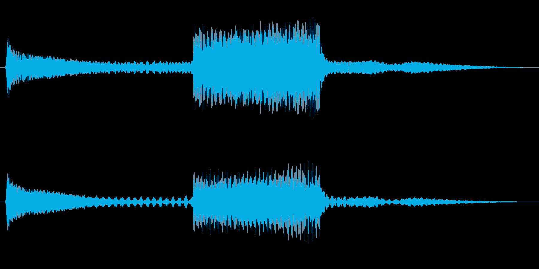 FI デバイス ライズフォール03の再生済みの波形