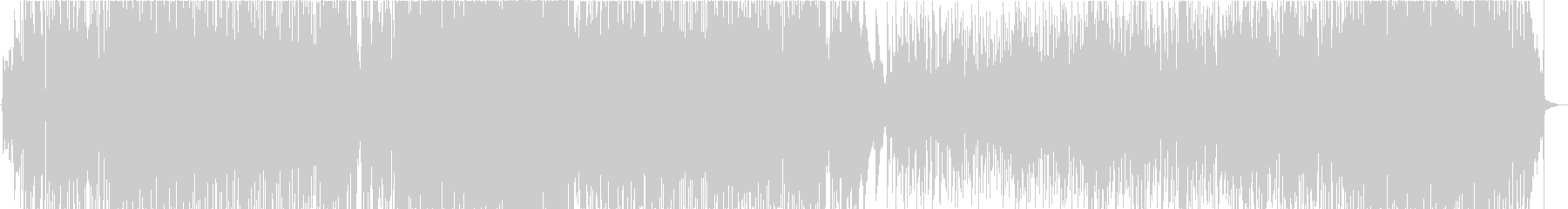 ケルト風ポップインストの未再生の波形