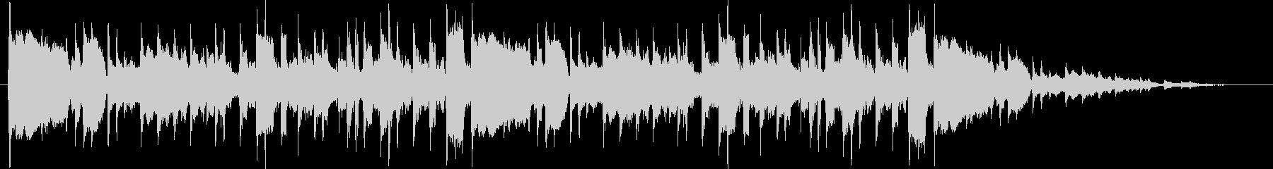 1970年代初期のプログレロックの未再生の波形