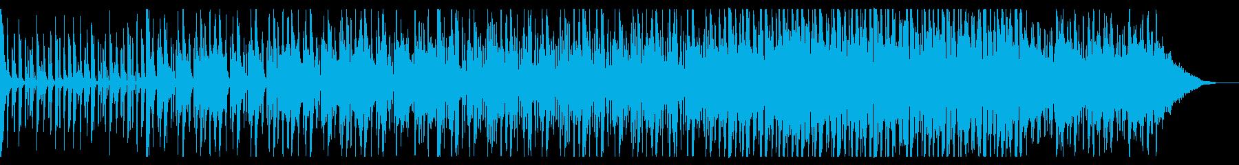 シックでダークなダンスミュージックの再生済みの波形