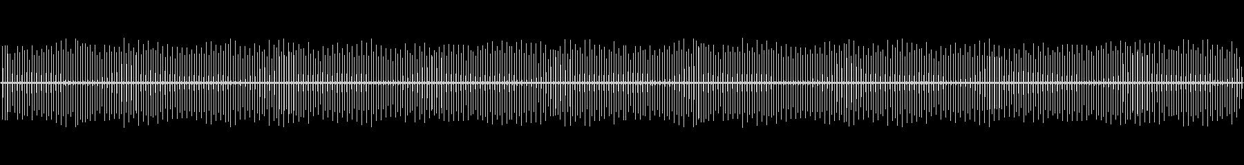静かなカチカチの未再生の波形