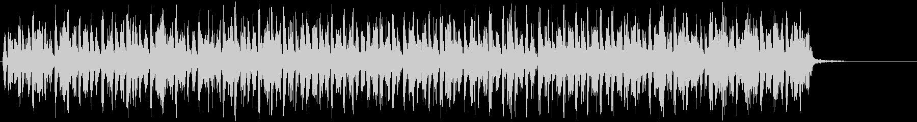 硬いラビングのきしみ音、短いストロ...の未再生の波形