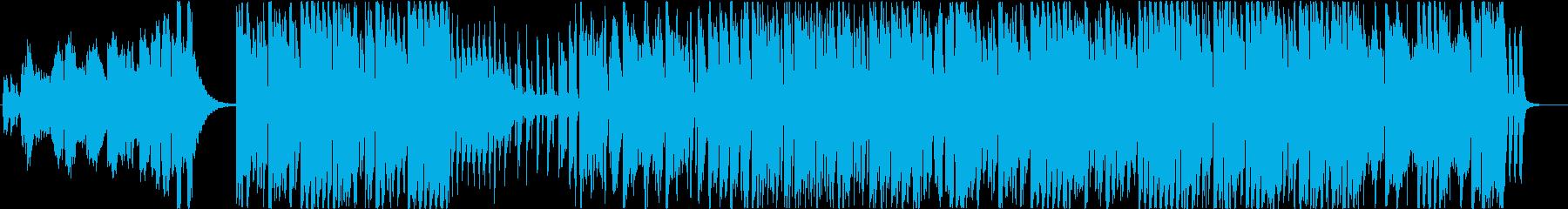 CM】EDM とにかくハッピー感がすごいの再生済みの波形