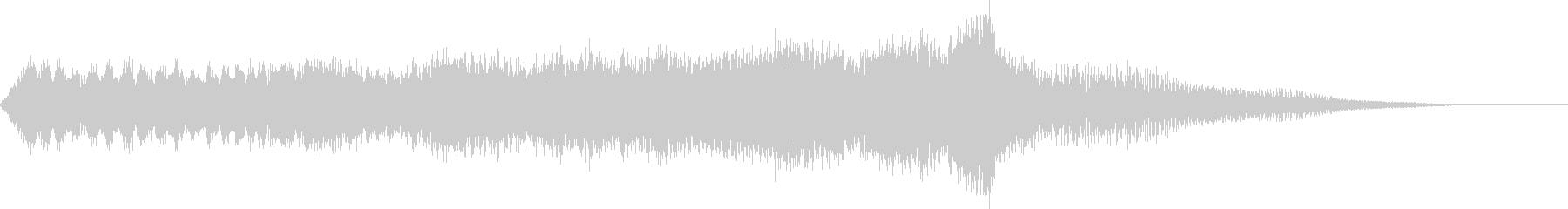 CINEMATIC RISER_13の未再生の波形