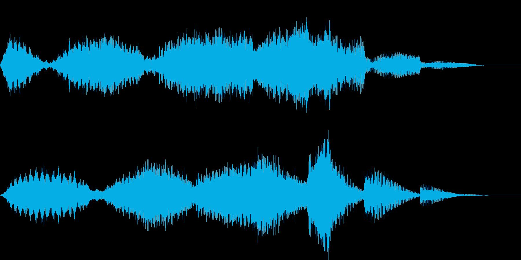 CINEMATIC RISER_13の再生済みの波形