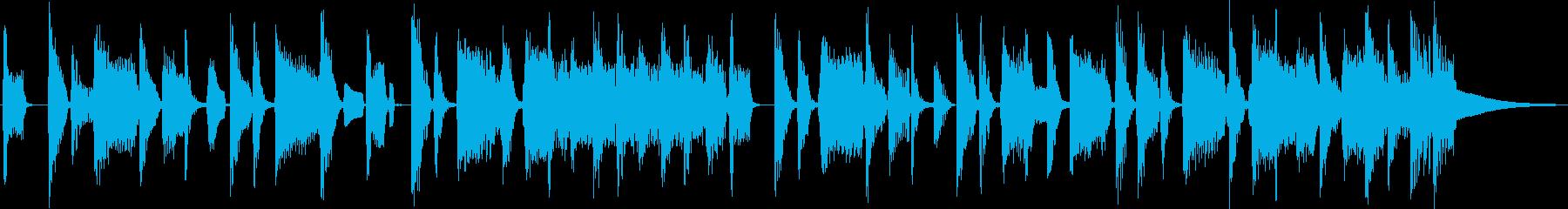 ソウル&ブルース系 ダークな雰囲気の再生済みの波形