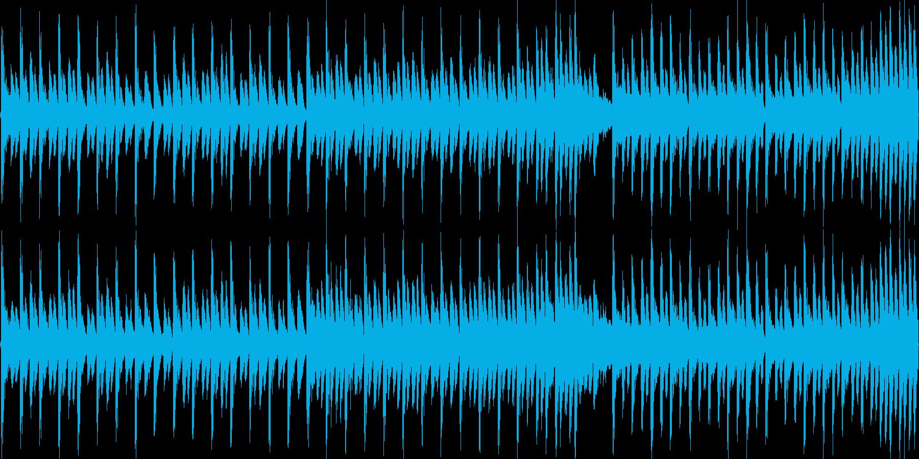 8bitクラシック カプリース(ループ)の再生済みの波形