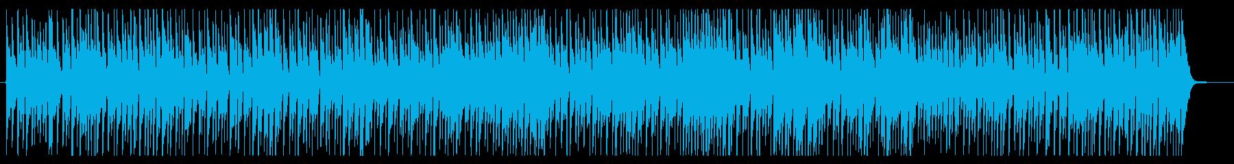 夏の青空をイメージしたポップスの再生済みの波形