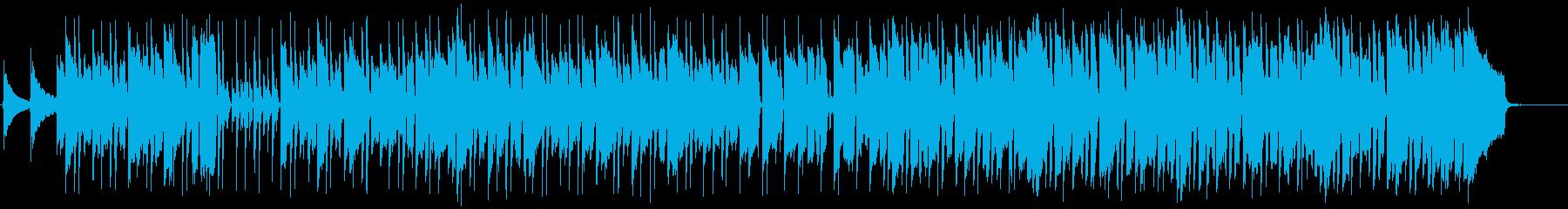 ブルース・インストゥルメンタル。の...の再生済みの波形