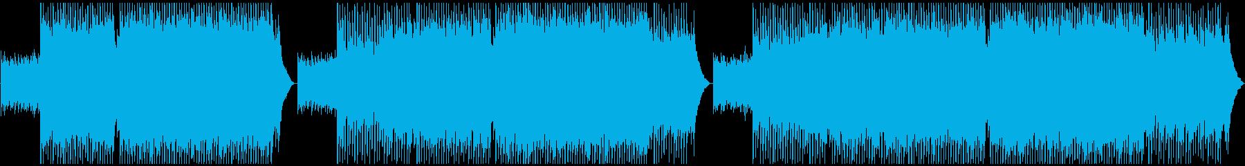 爽やかポップなコーポレート系BGMの再生済みの波形