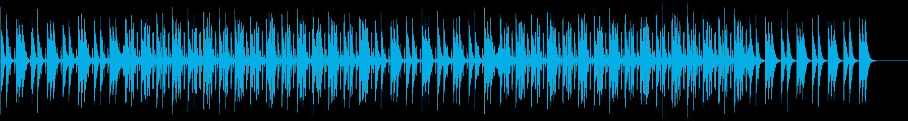 ニュース・報道番組系BGMの再生済みの波形