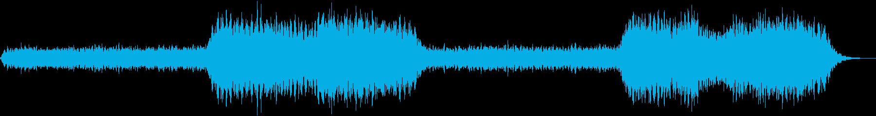 不気味だけど幻想的なBGMの再生済みの波形
