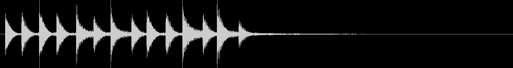 ドラム/ティンバレス フィルイン 5の未再生の波形