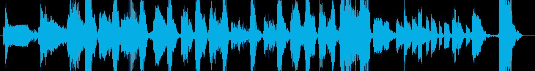 アラジンが歌いそうなジプシージングルの再生済みの波形
