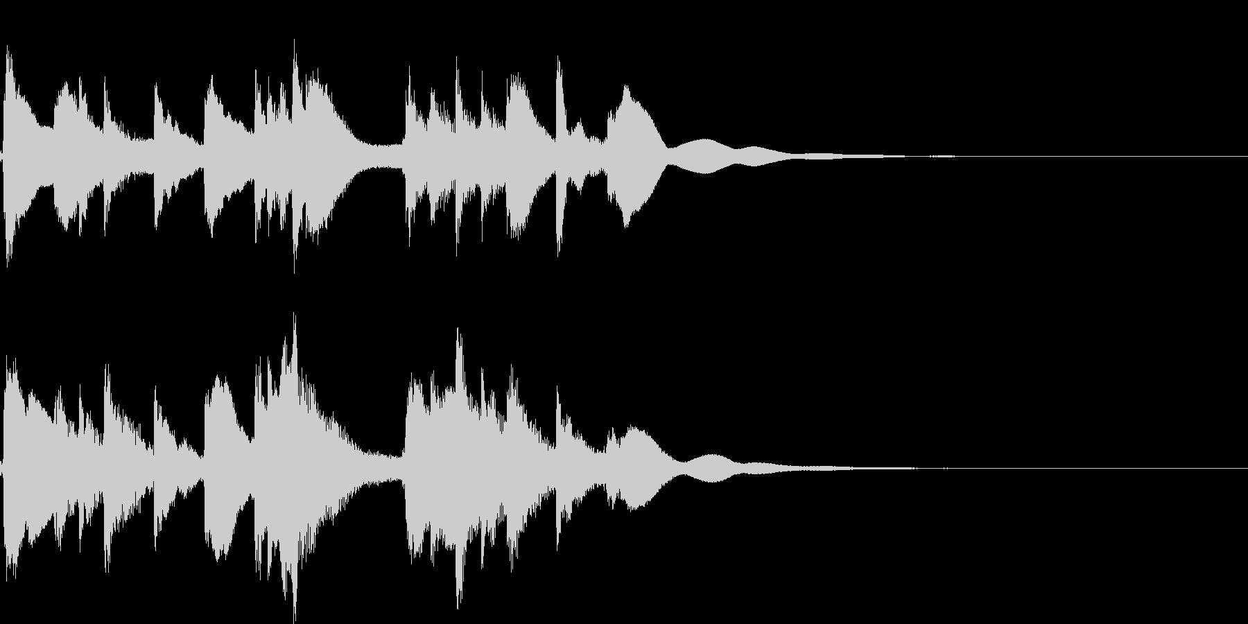 琴☆アイキャッチ3 リバーブ有の未再生の波形