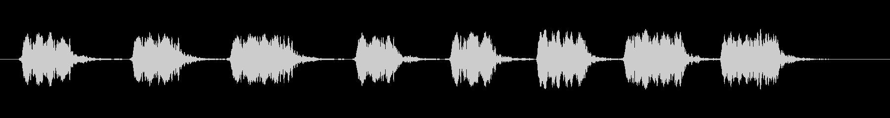 スモールメタルピーホイッスル:いく...の未再生の波形
