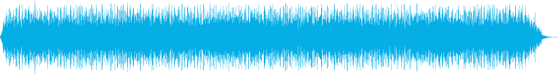 【アンビエント】ドローン_20 実験音の再生済みの波形