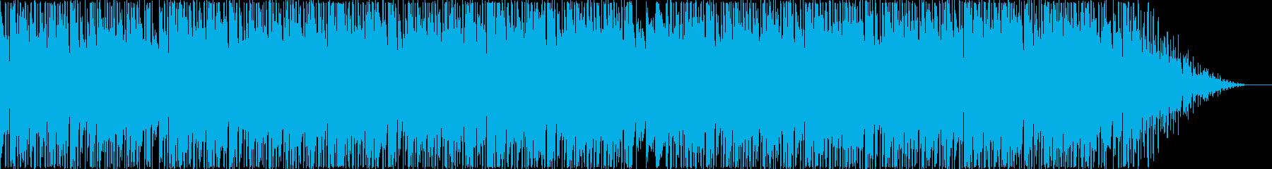 妖しく切ない雰囲気のヒップホップビートの再生済みの波形