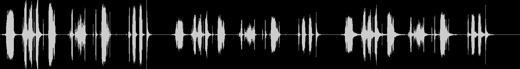 メタルラチェット-7バージョンX ...の未再生の波形
