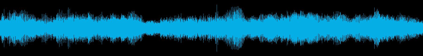 不安感を覚えさせるオルタナ系ミュージックの再生済みの波形