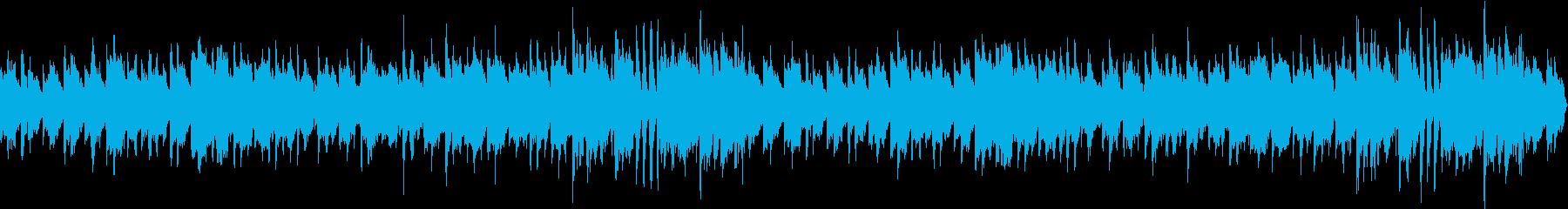 ワクワクするような日常ループBGM の再生済みの波形
