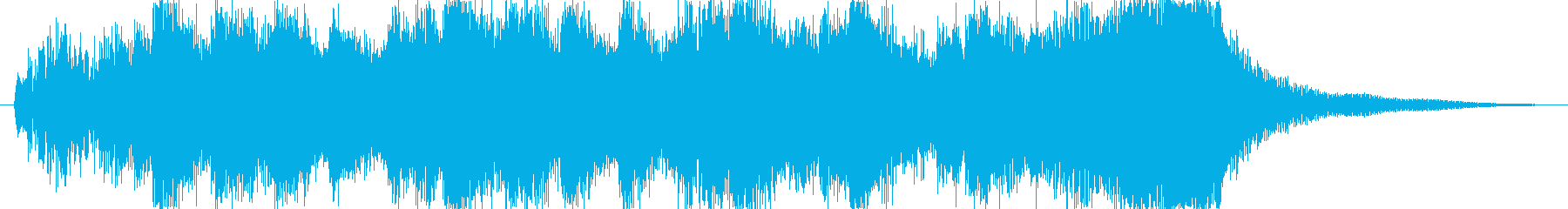 Event opening jingle's reproduced waveform
