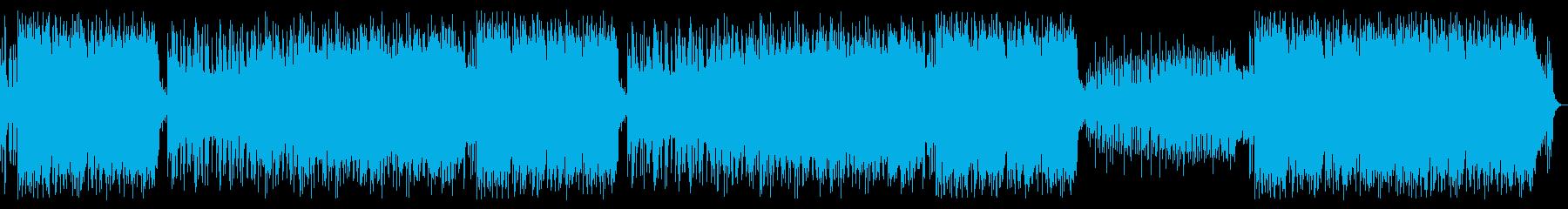 ダークな曲(緊迫/危機/緊急/異常)の再生済みの波形
