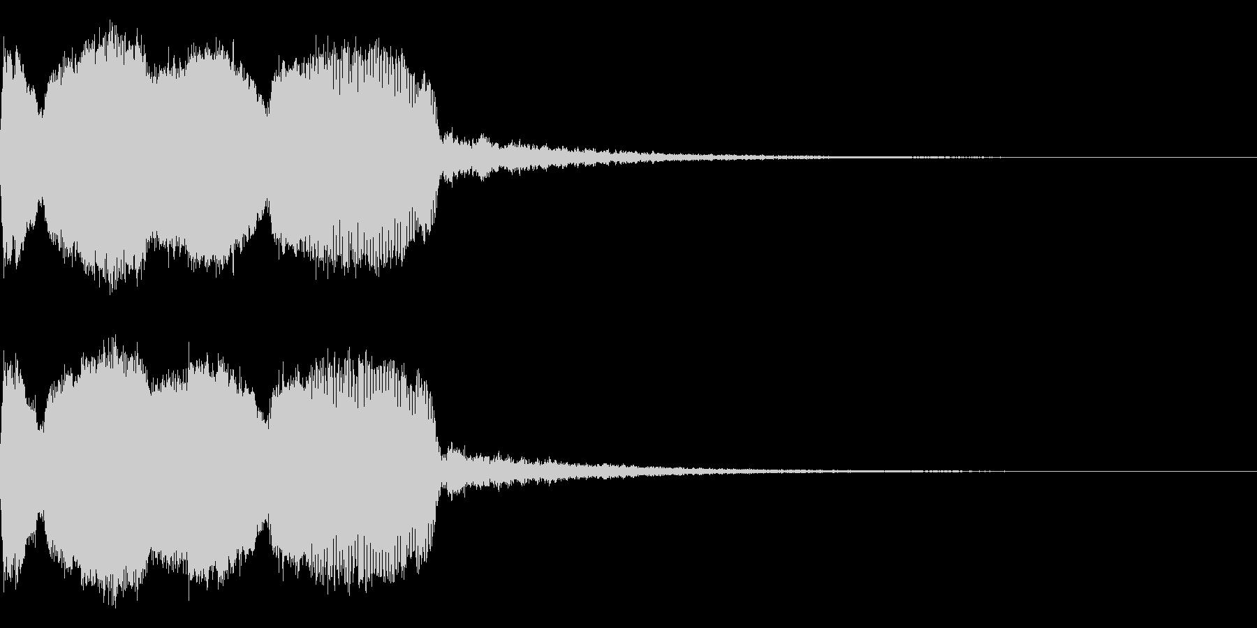 DJFX ヒットチャート発表前SE 23の未再生の波形