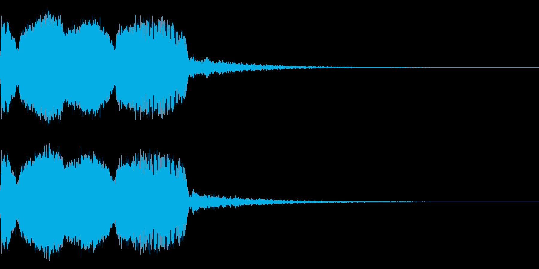 DJFX ヒットチャート発表前SE 23の再生済みの波形