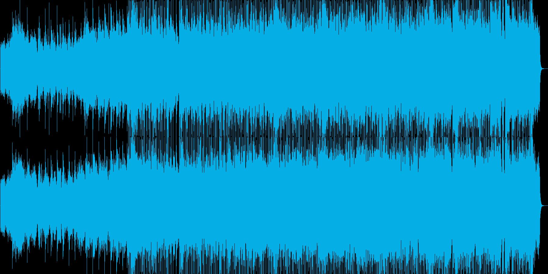 ゆったりとした感動的なバラードの再生済みの波形