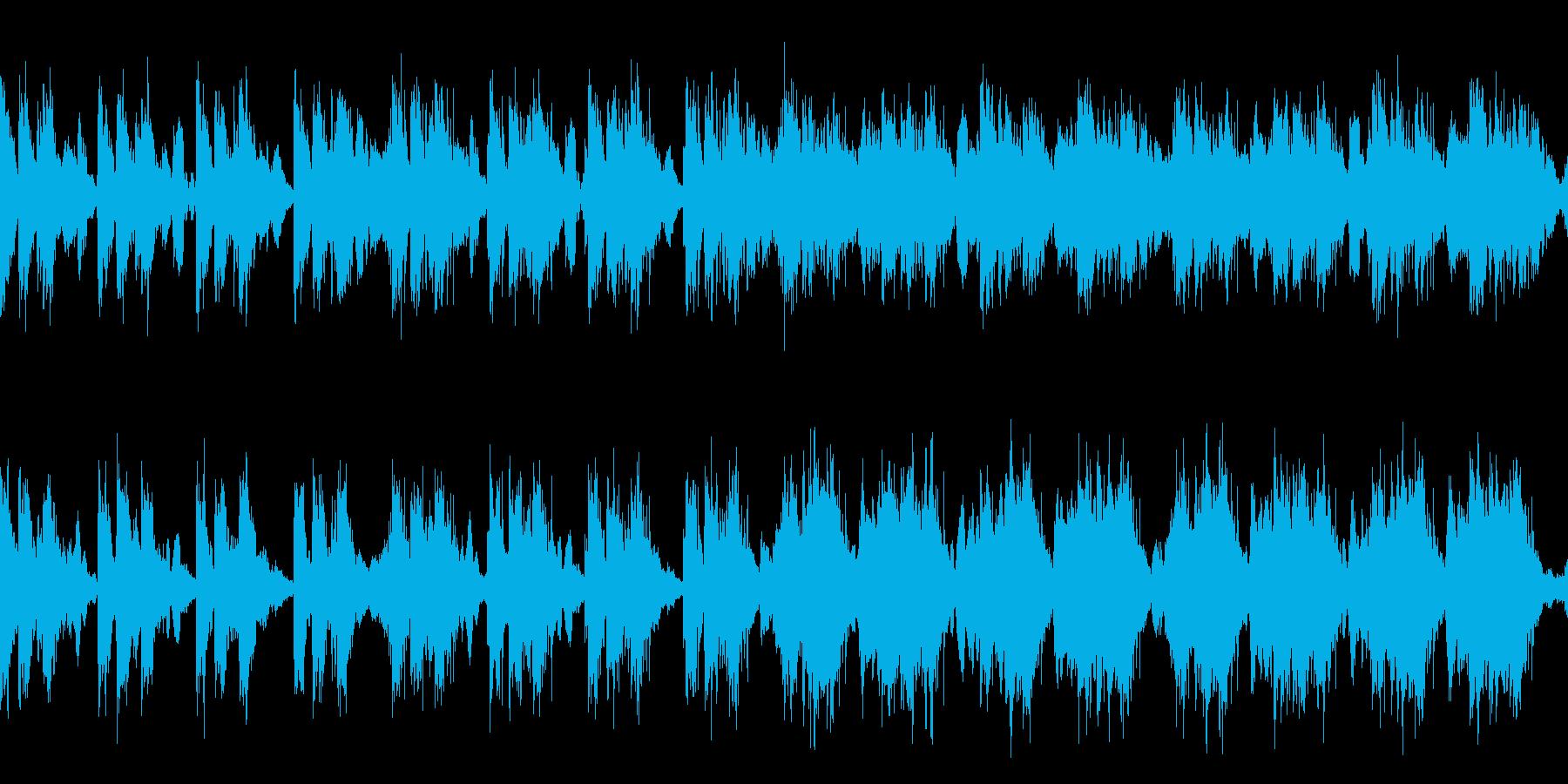 緊張感のあるEpicオーケストラ/ループの再生済みの波形