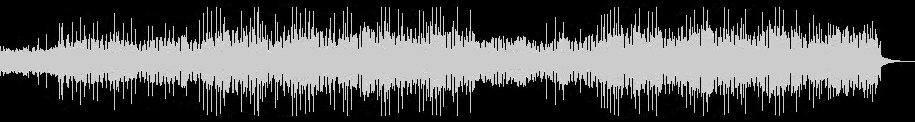 ラテン調のギターメロディサウンドの未再生の波形
