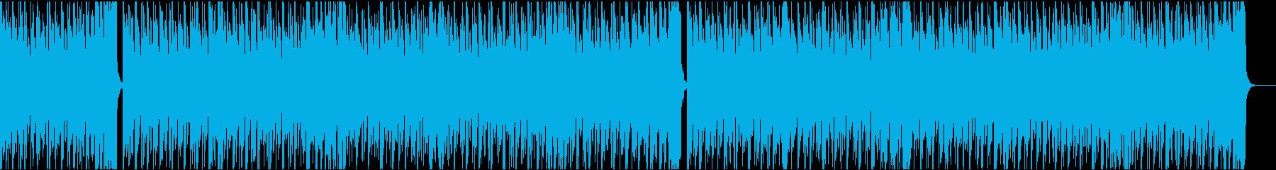 13秒でサビ、電子音ダーク/カラオケの再生済みの波形