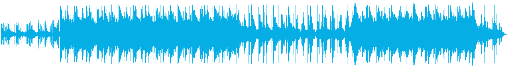 明るい綺麗で幸せなBGMの再生済みの波形