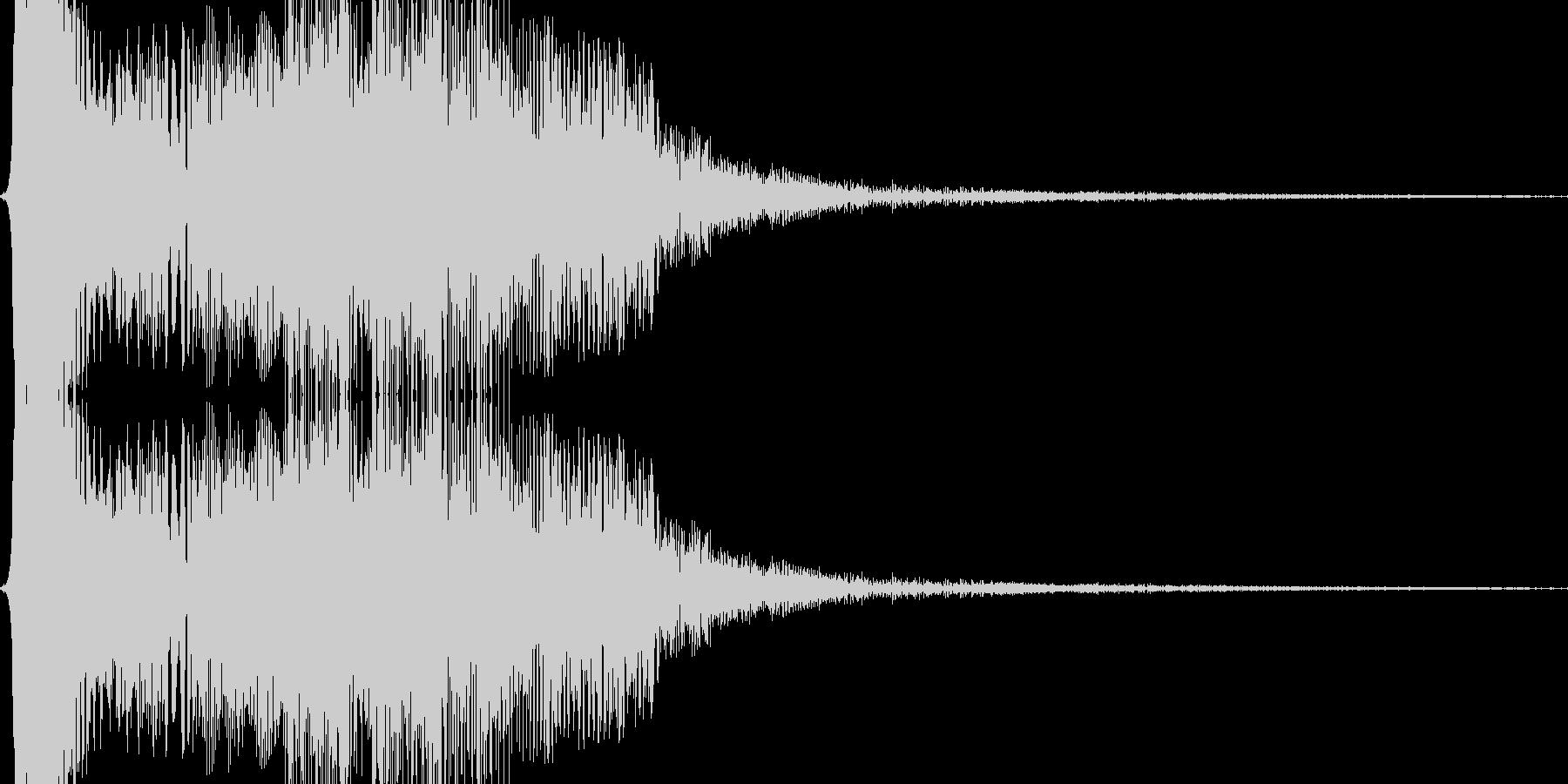 シャッと瞬間移動する02の未再生の波形