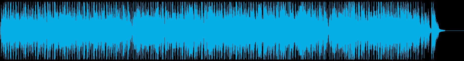 カフェやバーで流れるリラックスジャズの再生済みの波形