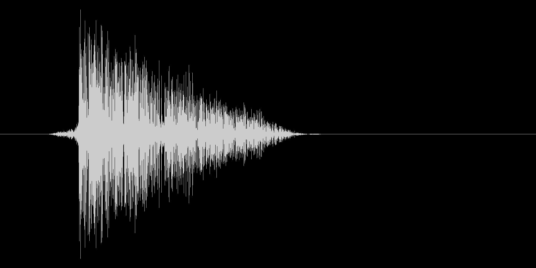ゲーム(ファミコン風)爆発音_044の未再生の波形