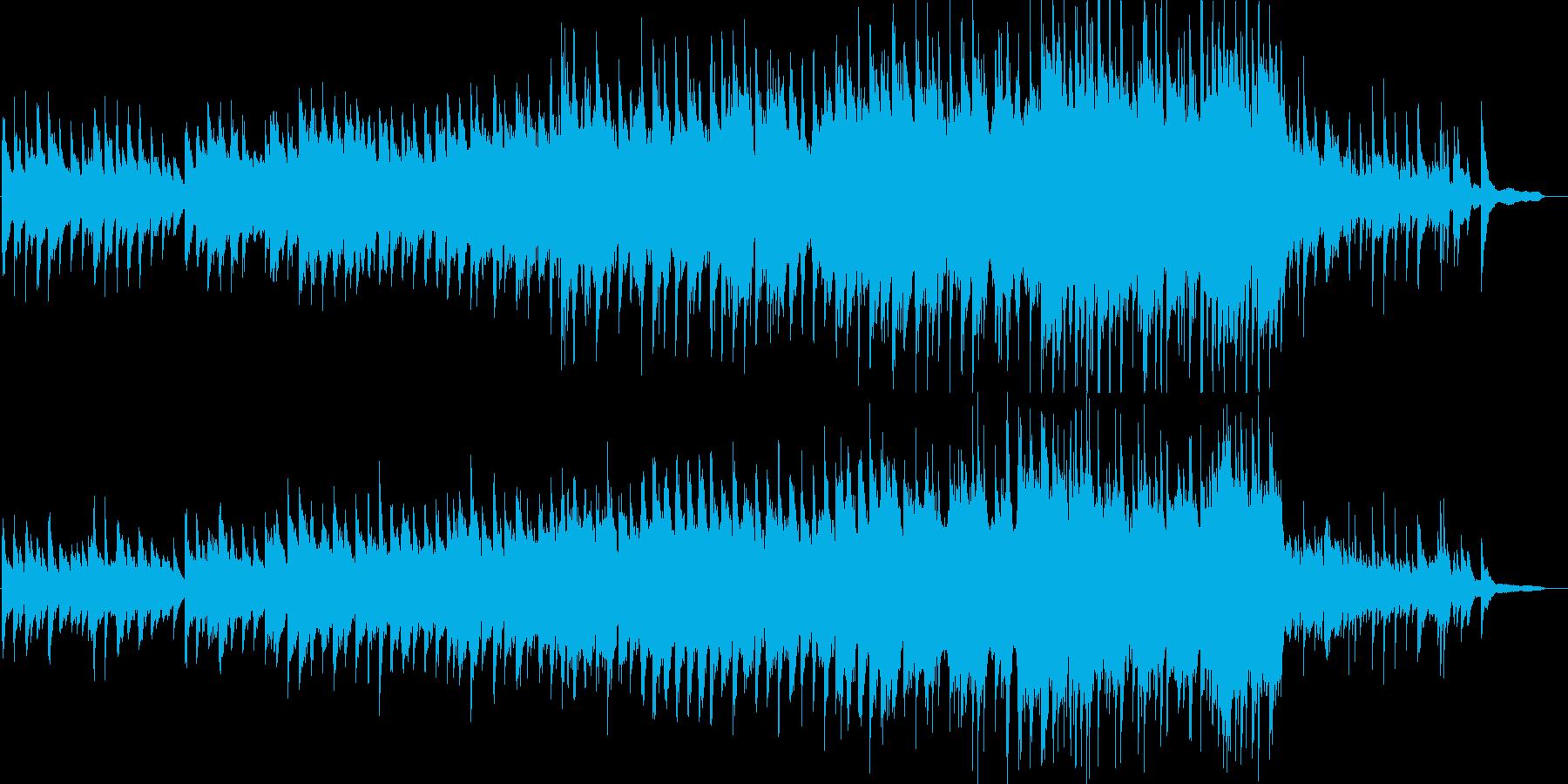 感動・結婚・表彰式・ピアノ・ストリングスの再生済みの波形