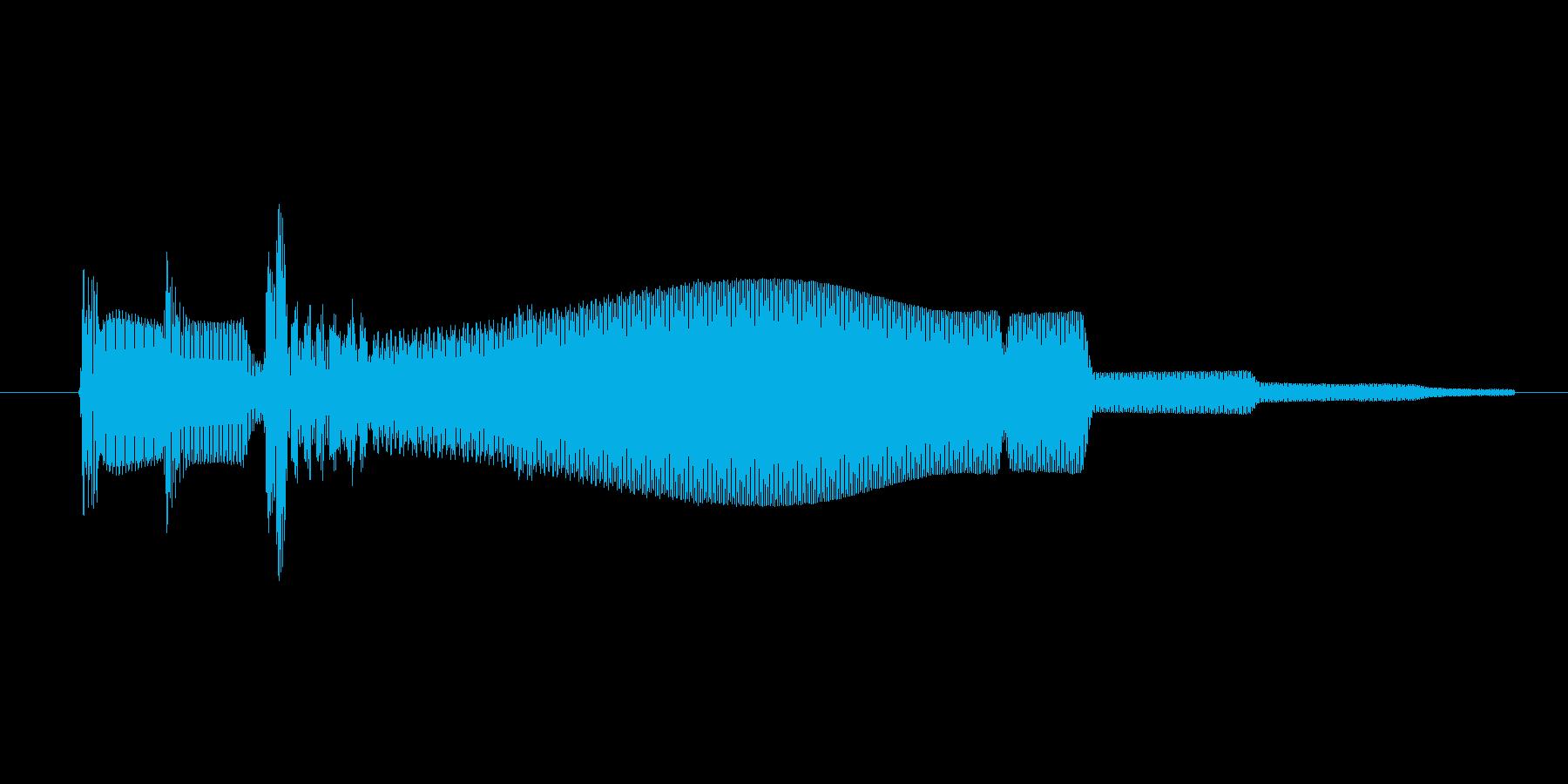 ゲーム、クイズ(ピンポン音)_006の再生済みの波形