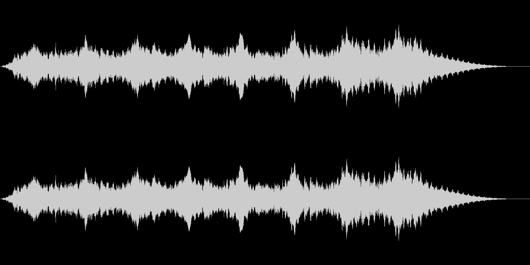 スペースアンビエンス5の未再生の波形