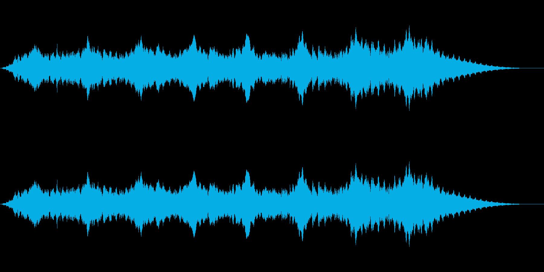 スペースアンビエンス5の再生済みの波形