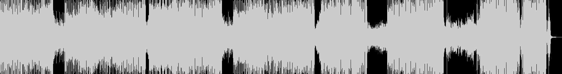 夏・元気の溢れるカラフルなロック Bの未再生の波形