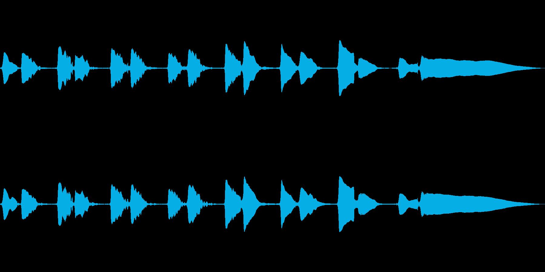 サックスソロの曲です。の再生済みの波形