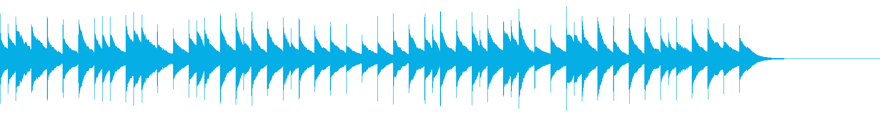 「こいのぼり」のオルゴールアレンジの再生済みの波形