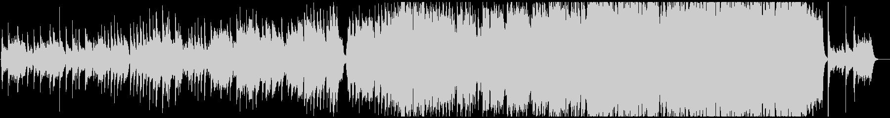 ヴァイオリン主体の切ない系バラードの未再生の波形