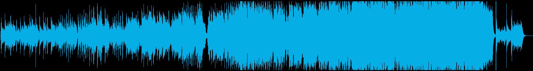 ヴァイオリン主体の切ない系バラードの再生済みの波形